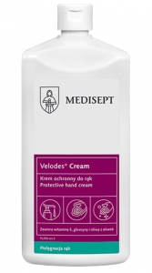 Medisept Velodes Cream 500 ml - Krem ochronny do rąk