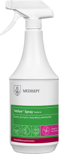 Medisept VELOX SPRAY 1 L - TEA TONIC - do mycia i dezynfekcji