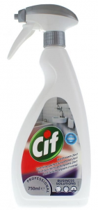 CIF Płyn do mycia łazienek 2w1 750 ml - Professional Washroom Cleaner